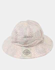 Myang Pink Fish Swirl Sun Hat