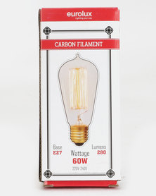 Eurolux Filament Light Bulb Mini Ball Top 19AK Up And Down Clear