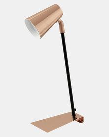 Eurolux Travale Lamp Black and Copper