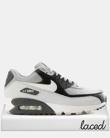 Nike Men's Air Max '90 Essential Shoe Wolf Grey/White-Pure Platinum-Black