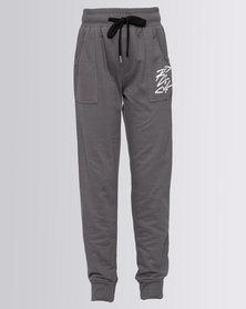 Rip Curl Boys Zig Zag Jogger Pants Charcoal Grey