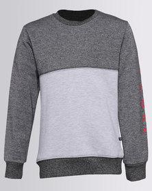 Rip Curl Boys Italic Crew Sweater Black