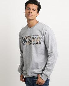 Quiksilver Gunner Crew Sweatshirt Grey