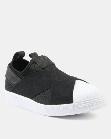 adidas Superstar Slipon W Core Black White  af68f0f51