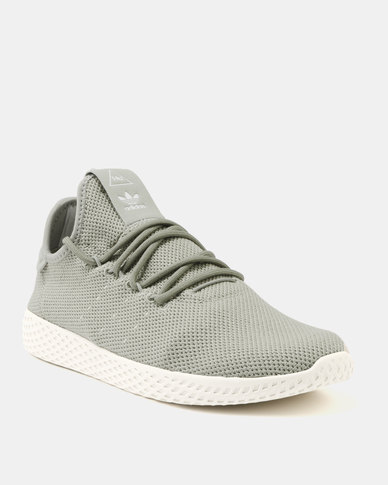 14065d736a5c1 adidas Pharrel Williams Tennis HU Tech Trainer Beige Chalk White
