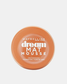 Maybelline Dream Matte Mousse Foundation Mahogany