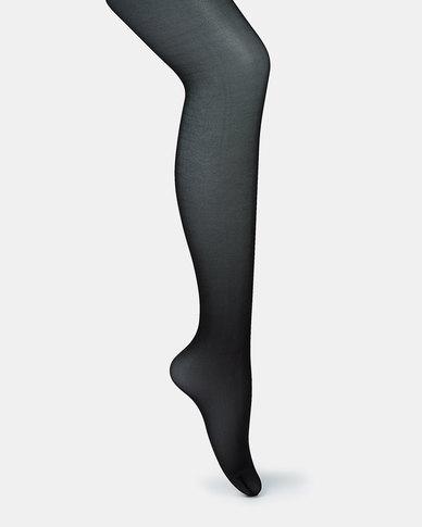Falke 15 Bright Silk Pantihose Black