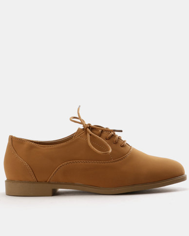 Urban Zone Urban Zone Flat Lace Ups Tan cheap sale affordable release dates online big sale for sale cjxlZhwIjV