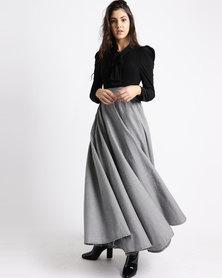 Jozsy Yankee Dress Grey/Black