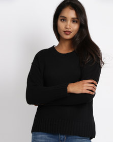 All About Eve Pitch Longsleeve Jersey Black
