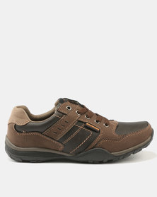 Weinbrenner Mens Casual Lace Up Shoe Brown