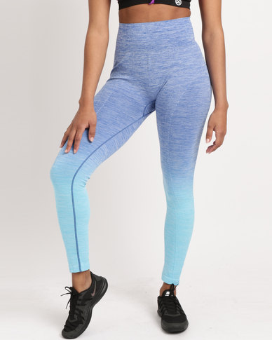 Utopia Ombre Tights Blue