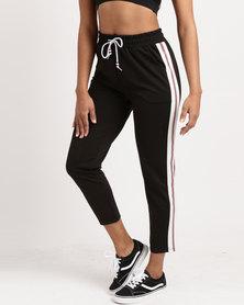 Utopia Track Pants Black