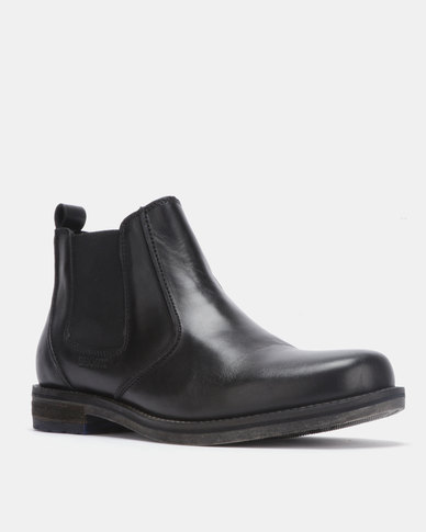 purchase cheap 15477 52692 Bronx Men Conall Leather Boot Black