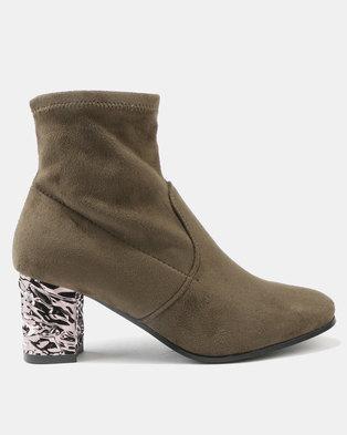 Utopia Softee Boots Olive Green