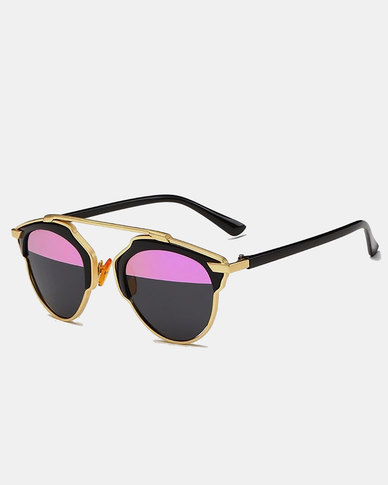 Naked Eyewear Taylor Polarised Sunglasses Pink