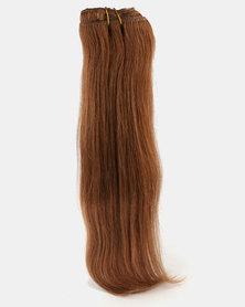Clipinhair Hair Extensions Chestnut Brown