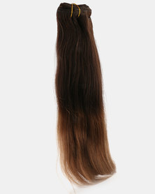 Clipinhair Hair Extensions Ombre Chestnut Brown
