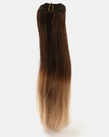 Clipinhair Hair Extensions Ombre Toffee Blonde