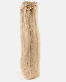 Clipinhair Hair Extensions Platinum Blonde