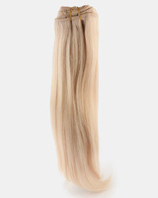 Clipinhair Extensions Silver Blonde