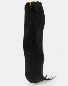 Clipinhair Hair Extensions Jet Black