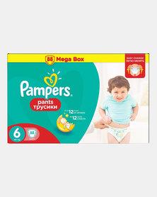 Pampers Active Baby Pants XL Size 6 Mega Box 88
