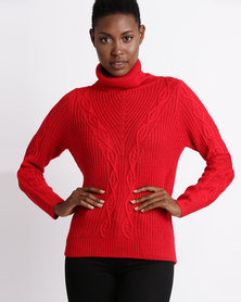 Assuili William de Faye Jumper Red