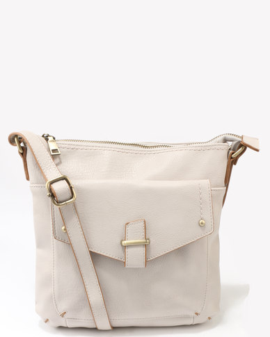 Queue Over The Body Satchel Nude