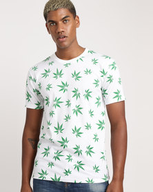 Unseen High Times T-Shirt Whites
