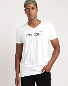 Unseen Free To Fly T-Shirt White