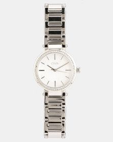 CHAPS Stainless Steel Strap Watch Silver
