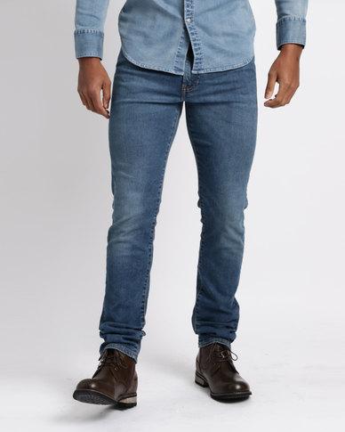 f94a2ec6 Levi's ® 510™ Huxley Advance Stretch Skinny Fit Jeans Blue | Zando