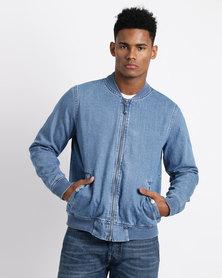 Levi's ® Lyon Bomber Jacket Indigo Blue
