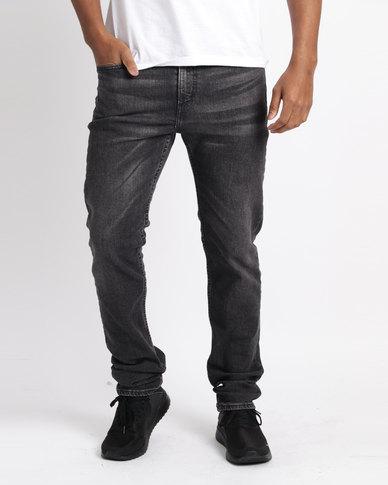 Levi's ® 502™ Regular Taper Fit Kansas Jeans Black