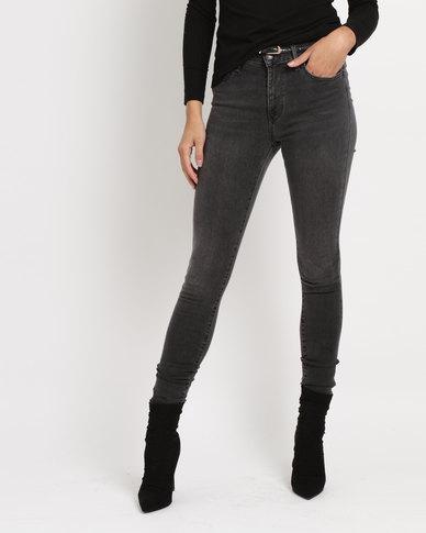3666c8513 Levi s ® 720 Hi Rise Super Skinny Jeans Fancy That Black