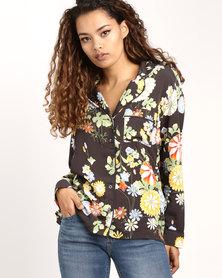 Levi's ® Yvette Shirt Ani Obsidian Multi