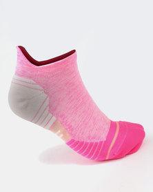 Stance Performance Distance Socks Pink