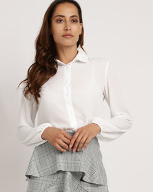 Utopia Georgette Blouse Milk