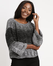 Utopia Ombre Jumper Grey
