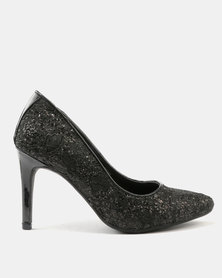 FRANCO CECCATO LACE POINTY COURT