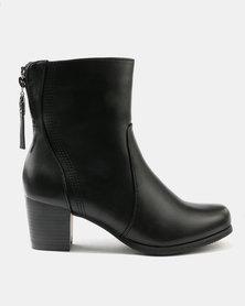 2015 sale online Franco Ceccato Franco Ceccato Short Lace Up Crepe Soles Boots Dark Brown order CTwEU