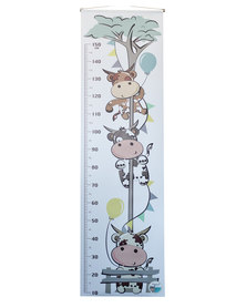 NovelOnline Kid's Growth Chart Grey