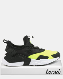 Nike Air Huarache Drift Sneakers Volt/Black/White
