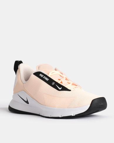 Nike Womens Rivah Sneakers Crimson Tint