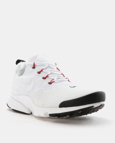 df3eeb99cdc Nike Presto Fly Sneakers White White-Black-University Red