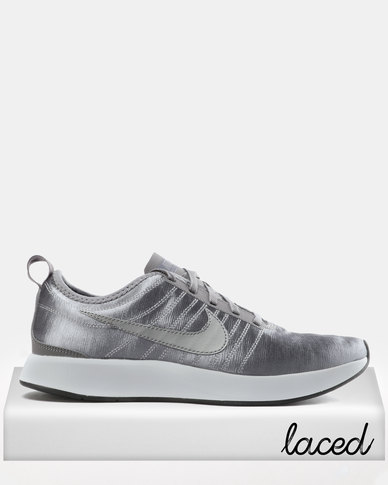 Nike W Dual Tone Racer SE Sneakers Gunsmoke/Gunsmoke-White