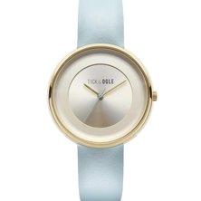 Tick & Ogle Ladies Watch Pastel Leather Cream Blue