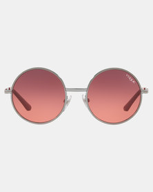 Vogue Gradient Violet Lens Sunglasses Pink