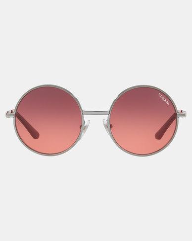 Vogue Gradient Violet Lens Sunglasses Pink